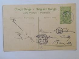 Belgian Congo Belge Belgisch 234 Attaque D Une Termitiere Sur La Route De Lukafu Stamp Bandundu 1913