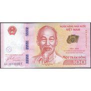 TWN - VIETNAM New - 100 Đồng 2016 UNC Polymer - Vietnam