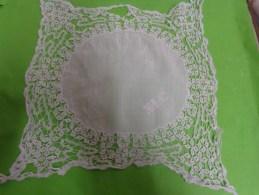 Mouchoir De Bal Ou Pochette A Restaurer Monogramme NLC - Handkerchiefs