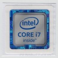 INTEL Computer Processor I7 - Seal Of Original / Self Adhesive Label - 2015 - Hologram Holography - Autres