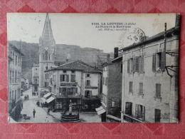 Dep 07 , Cpa LA LOUVESC , 6196 , La Place Et La Basilique (10.372) - La Louvesc