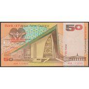 TWN - PAPUA NEW GUINEA 11a - 50 Kina 1989 UNC - FREE SHIPPING On Orders Over EUR 150 - Papua Nuova Guinea