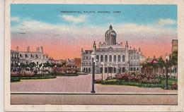 CPA Cuba Presidential Palace Havana Cuba 1940 - Postcards