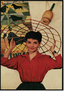 Ca. 1958  -  Sammelbild OK-Kaugummi  -  Ingrid Andree  -  Bild Nr. 74 - Ohne Zuordnung