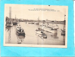 """LES SABLES D'OLONNE - 85 -   Vue Générale Du Port Et """"Le Stylet"""" Bateau Promenade - VAN18 - - Sables D'Olonne"""