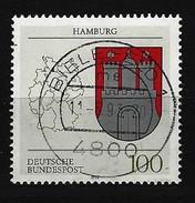 BUND Mi-Nr. 1591 Wappen Hamburg Gestempelt Bielefeld (2) - BRD