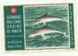 1976 - E 3 Delfini - Sovrano Militare Ordine Di Malta