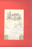 CPA PRECURSEUR 91 ORSAY LE CHATEAU DE CORBEVILLE FACADE OUEST - Orsay