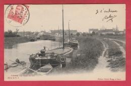 Veurne / Furnes - Le Canal De Loo ....binnenschipen - 1913  ( Verso Zien ) - Veurne