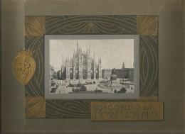 Seltenes Ansichten Album  RICORDO Di MILANO / Mailand - Ca. 1925 - - Milano