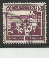 PALESTINE-BRITISH-MANDATE 50 Mil Stamp - Palestine