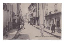 MAR- BEDARIEUX EN HERAULT ROUTE SAINT ALEXANDRE CPA CIRCULEE - Bedarieux