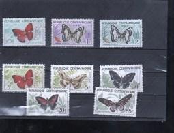 CENTRAFRICAINE Nº  4 Al 11 - Papillons