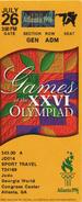 JEUX OLYMPIQUES D ETE ATLANTA 1996 Judo - Tarjetas