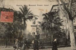 CORSE AJACCIO MONUMENT PREMIER CONSUL - Ajaccio