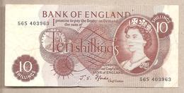 Inghilterra - Banconota Circolata Da 10 Scellini - 1966 - 1952-… : Elizabeth II