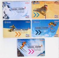 China 2008 China Telecom Phonecards 2008 Forever Olympic Game Timeless Spirit 5V - Sport