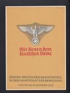 Dt. Reich GSK Erster Deutscher Beamtentag 1937 - Deutschland