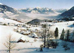 1 AK Österreich Vorarlberg * Blick Auf Die Ortschaft Gurtis In Der Gemeinde Nenzing - Luftbildaufnahme * - Nenzing