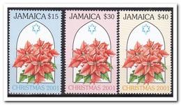 Jamaica 2001, Postfris MNH, Flowers, Christmas - Jamaica (1962-...)