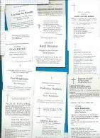 Bidprentjes   Hoogstraten    12   Stuks - Images Religieuses