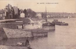 CARTE POSTALE   JUVISY 91  Le Quai De La Seine - Juvisy-sur-Orge