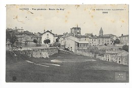 SAUGUES  (cpa 43)  Vue Générale - Route Du Puy -   - L 1 - Saugues