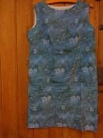 Robe Vintage Tour De Poitrine 104 Haut 90cm Tergal Taille 46 - 1940-1970