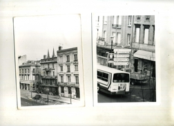 FRANCE 33 . LOT DE 3 PHOTOS . RUES DE BORDEAUX . - Orte