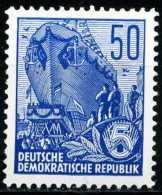A11-44-2) DDR - Michel 584 B - ** Postfrisch (C) -  50Pf  Fünfjahresplan VI - [6] République Démocratique