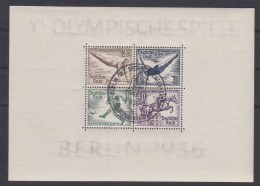 DR Block 5 + 6 Gest. Olympiablockpaar Mit Sonderstempel - Used Stamps