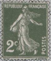 France 1932. ~ YT 278** - 2 C. Semeuse Camée - 1906-38 Semeuse Camée