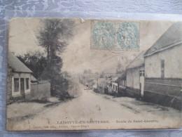 LAMOTTE EN SANTERRE . ROUTE DE ST QUENTIN . Salissure - Autres Communes