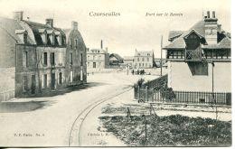 N°52262 -cpa Courseulles Sur Mer Port Sur Le Bassin- - Courseulles-sur-Mer