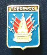 Town Tobolsk, Coat Of Arms, Russia - Cities