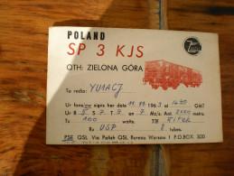 Zielona Gora Poland Zastal Radio Amateur - Radio Amateur