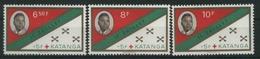 1961 Katanga, Croce Rossa , Serie Completa Nuova (**) - Katanga