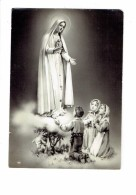 Cpm - FATIMA - NOSSA SENBORA - LA MADONNA - NOTRE DAME - Femme Garçon Fillettes Prière Mouton - Vergine Maria E Madonne