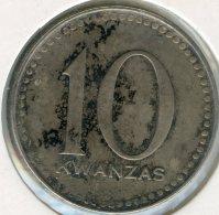 Angola 10 Kwanzas 1975 / 1977 KM 85 - Angola