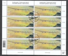 Schweiz Gestempelt 2454 Solarimpulse Neuausgabe 27.07. 2016 Kleinbogen Ungefaltet - Gebraucht