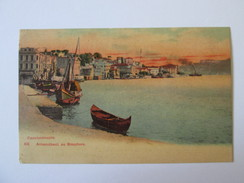 Turkey-Constantinople Used Postcard 1906,stamp With Overprint - Turquie