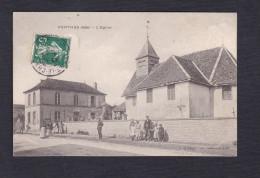 Rare Perthes  ( Les Brienne Aube 10) - Eglise ( + Ecole ,  Animée Photo Rale) - France