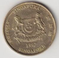 @Y@    Singapore   5 Cents  1997  (3825) - Singapore