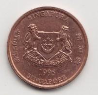 @Y@    Singapore   1  Cent  1995  (3827) - Singapore