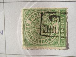 Nord Deutsche Bund Michel Ꙩ 2 - North German Conf.