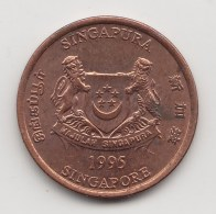 @Y@    Singapore   1  Cent  1999  (3833) - Singapore