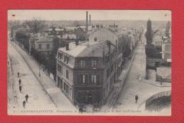 Maisons- Laffitte  -  Perspective De L Avenue De Poissy Et La Rue St Nicolas  --  Abimée - Maisons-Laffitte