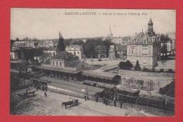 Maisons- Laffitte  -  Vue Sur La Gare - Maisons-Laffitte