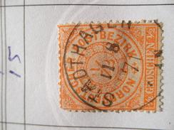 Nord Deutsche Bund Michel Ꙩ 15 - North German Conf.