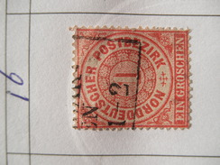 Nord Deutsche Bund Michel Ꙩ 16 - North German Conf.
